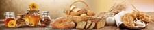 Фартук кухонный  АБС Хлеб и Мёд  1,5х600х3000мм (1,8м2) №123