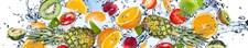 Фартук кухонный  АБС Экзотика  1,5х600х3000мм (1,8м2) (№58)