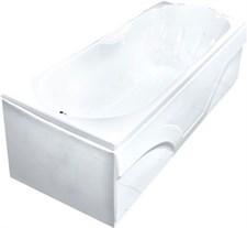 Ванна Лаура 120х70 без гидромассажа, без слива-перелива, на каркасе+Панель  Волна  120+Слив/перелив 55-65 см