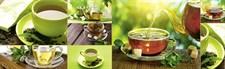 Кухонная панель ПВХ 600х2000 Чай, 4680009855038