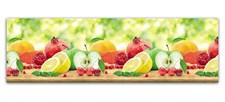 Кухонная панель ПВХ 600х2000 Фрукты, 4680009853799