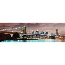 Кухонная панель ПВХ 600х2000 Бруклинский мост, 4680009854802