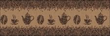 Фартук кухонный  АБС Кофейные зёрна  1,5х600х3000мм (№52)