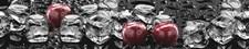 Фартук кухонный  АБС Вишня со льдом  1,5х600х3000мм (1,8м2) (№35)