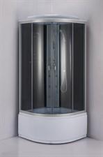Душ.каб. NG- 3519-14 (1000х1000х2150) высокий поддон(45см) стекло ТОНИРОВАННОЕ 4 места