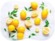 Разделочный мат ПП 30х40 см Лимоны, 4680009858282