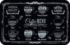 Сервировочная салфетка ПВХ 26х41 см Кофейная карта, 4630055120659
