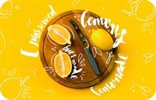 Сервировочная салфетка ПВХ 26х41 см Лимоны, 4630055120642
