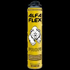 Пена пистолетная «ALFA Flex Profi 65» всесезонная, до 65 л, 1005 гр