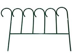 Забор  Зиг-Заг  4секции зелёный Т430