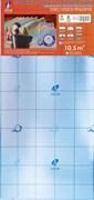 Солид подложка гармошка с пароизоляцией оранжевая 3 мм (10,5 м2)
