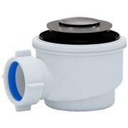 Сифон для душ.поддона 1 1/2**50/60 хром, клик-клак (Е410CL)
