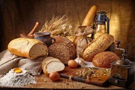 Доска кухонная 17,5х29 см Хлеб, 4630055121007