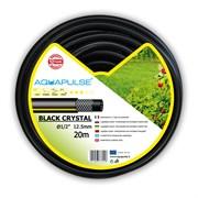 Садовый шланг усиленный Aquapulse Black Crystal (FITT) - 5/8  х 20м