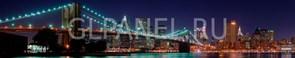 Фартук кухонный АБС Бруклинский мост 1,5х600х3000мм (1,8м2) (№1)