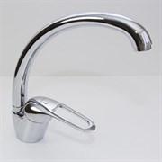 Смеситель для кухни 40k MIXLINE ML05-032 высокий излив боковая ручка