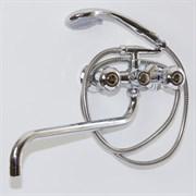 Смеситель для ванны и умывальника 1/2 кер.MIXLINE  ML02-02