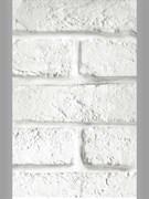 Панель ПВХ кирпичи белые 6,75м2 0,25х2,7х0,008 (№347)