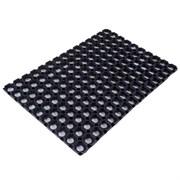 Ячеистый резиновый коврик 80х120 см - 16 мм CleanWill