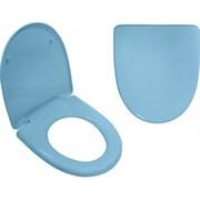 Сиденье для унитаза  Вест-М  голубой ИНКОЭР