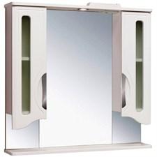 Шкаф зеркальный навесной  Толедо 85
