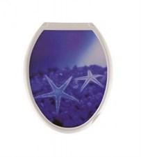 Сиденье для унитаза  Универсал Декор  Морская звезда