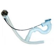 Обвязка на ванну  1 1/2*40 полуавтомат Е411 (ЕМ411) АНИ пласт (пластик хром)